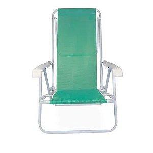 Cadeira Reclinável Aço 8 Posições Anis - Mor