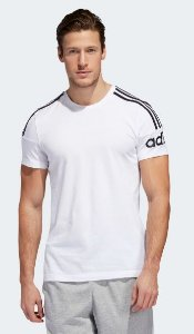 Camiseta Performance Crew Branca Adidas