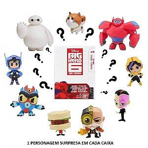 Mini Figura Surpresa Série 1 Big Hero 6 Disney Bandai Sunny