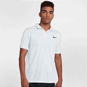 Camisa Polo branca Court Team Masculina - Nike