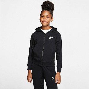Jaqueta Infantil Nike Sportswear Feminina - Preto