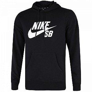 Blusão Masculino Nike Sb Hoodie Essentials - Preto