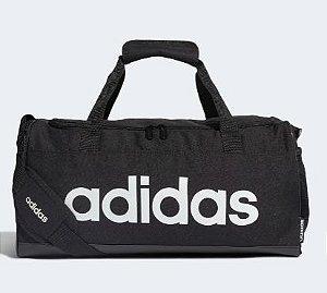 Mala Duffel Linear Logo Preto  Adidas