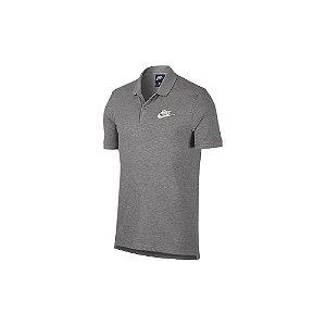 Camisa Polo Masculina Nike Sportswear - Cinza
