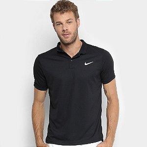 Camisa Polo Nike Dry Team Masculina - Preto
