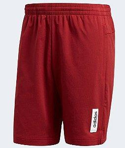 Short Adidas Brilliant Basics Masculino - Vermelho