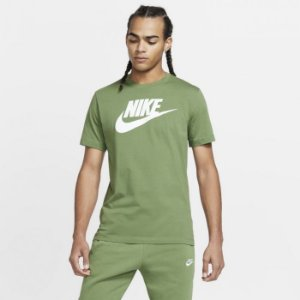 Camiseta verde Sportswear Tee Icon Futura Nike - Masculino