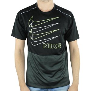 Camiseta Nike Dri-Fit Miler Masculina - Preto