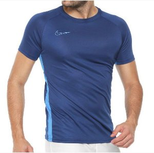 Camiseta Nike Dry Academy SS Masculina - Azul