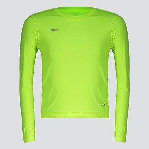 Camiseta Penalty Matis Manga Longa Juvenil Verde
