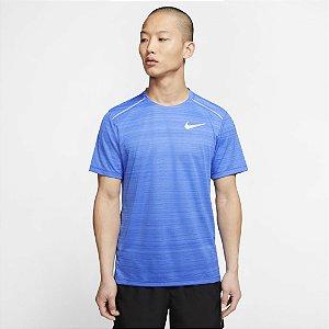 Camiseta Nike Miler Masculina - Azul