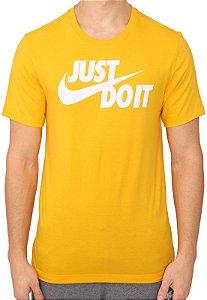 "Camiseta Amarela Sportswear ""Just Do It"" - Nike"
