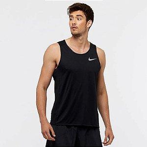 Regata Nike Dry Miler Masculina - Preto