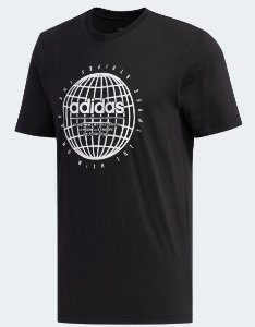 Camiseta Performance Glb Preta Adidas