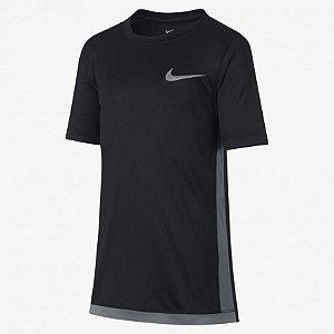 Camiseta Dri-FIT Preto Nike - Infantil