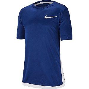 Camiseta Dri-Fit Trophy Azul Nike - Infantil