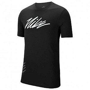 Camiseta Dri-FIT Masculina preta- Nike
