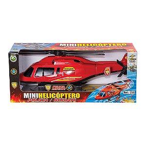 Mini Helicóptero Polícia/Resgate - Bs Toys