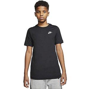 Camiseta Preta Nike - Infantil