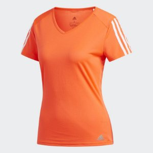 Camiseta Running 3-Stripes Adidas - Feminino