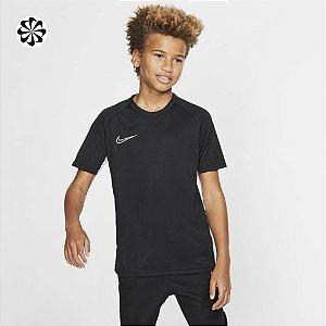 Camiseta Dri-Fit Academy Preta Nike - Infantil