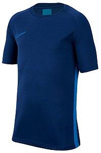 Camiseta Dri-Fit Academy Azul/Marinho Nike - Infantil