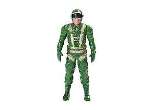 Boneco Aviador/Polícia - Bs Toys