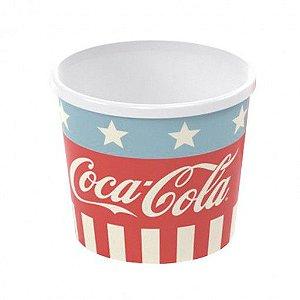 Pote Plasútil Pipoca Coca Cola
