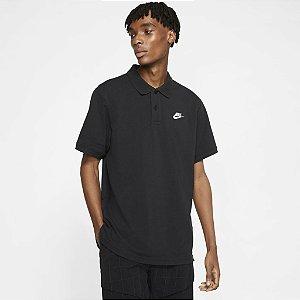 Camisa Polo Nike Sportswear Masculina - Preta