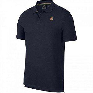 Camisa Polo Nike Masculina - Azul-marinho