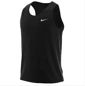 Regata Breathe Run Preta Nike - Masculina