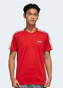 Camiseta Designed vermelho Adidas- Masculino