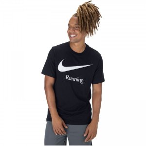 Camiseta Dry Run HBR Preta Nike - Masculina
