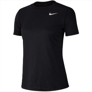 Camisa Tee Crew Preto Nike - Feminina