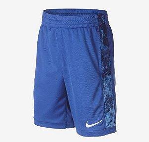 Shorts Nike Trophy AOP Azul - Infantil