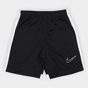 shorts Infantil Nike Academy Preto e Branco - Masculino