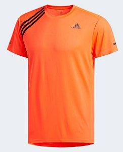 Camiseta Run It 3-Stripes Adidas - Masculino
