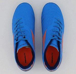 Chuteira Speed XX Futsal Azul/Laranja Penalty - Unissex