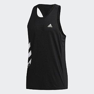 Regata Own The Run 3-Stripes PB Adidas - Masculina