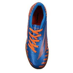 Chuteira Storm Speed IX Futsal Juvenil Laranja Penalty - Infantil