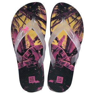 Chinelo Summer Jungle Rosa Kenner - Masculino