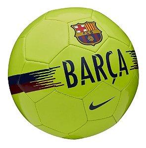 Bola Nike Futebol Campo Barcelona Costurada