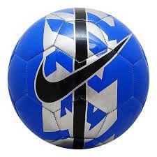 Bola Nike de Futebol Reac SC2736 Azul