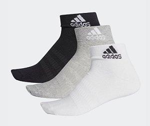 Meias Ankle 3-Pares Adidas - Unissex