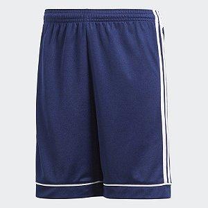 Short Adidas Squadra 17 Infantil - Azul
