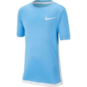 Camiseta Nike Dry Top SS Trophy Infantil - Azul