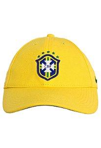 Boné Nike Brasil Amarelo Unissex