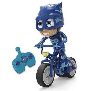 Bike Menino-Gato Com Controle Remoto PJ Masks - Candide