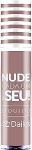 Batom Liquido Dailus Nude Crema