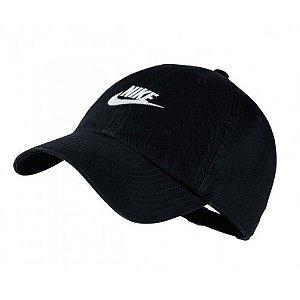 Boné Nike Aba Curva Sportswear Preto Unissex